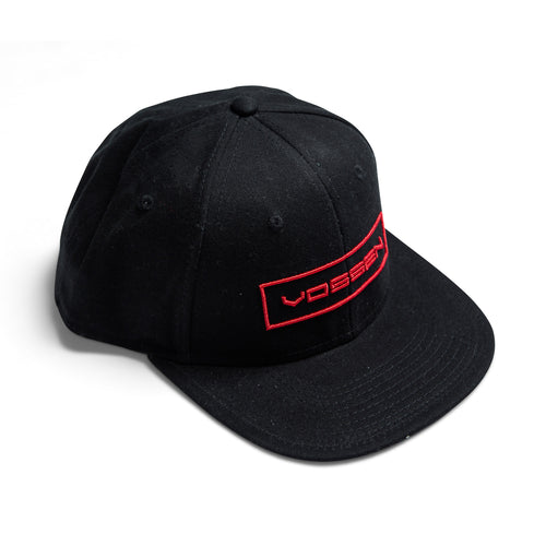 Classic Vossen Outline Hat (Black/Red)