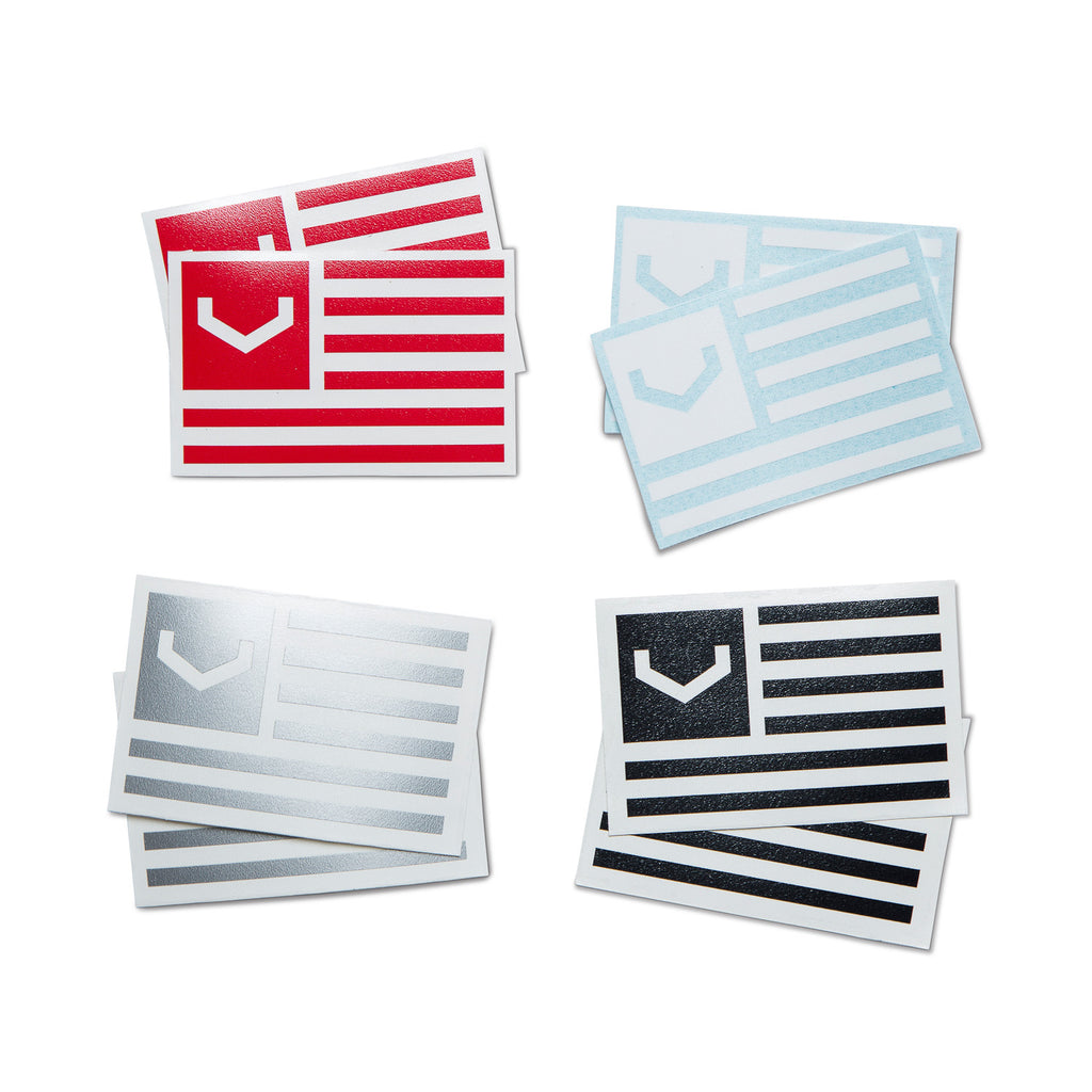 Flag Decal 2-Pack - Vossen