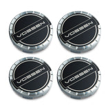 Classic Billet Sport Cap Set for CV/VF/HF Series Wheels (Gloss Clear) - Vossen