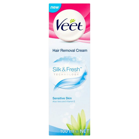Veet Hair Removal Cream Silk and Fresh Sensitive Skin