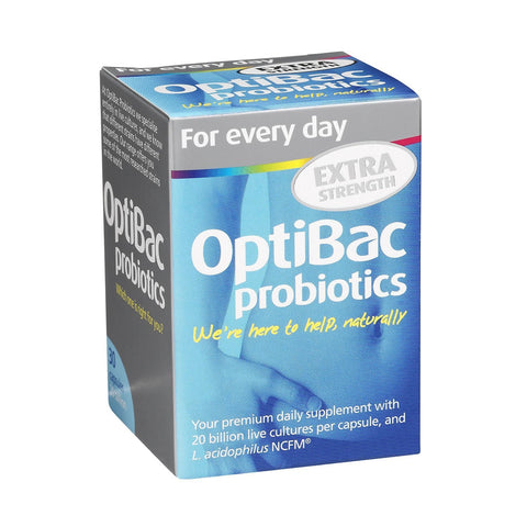 Optibac Probiotics For Everyday Extra Strength 30 caps