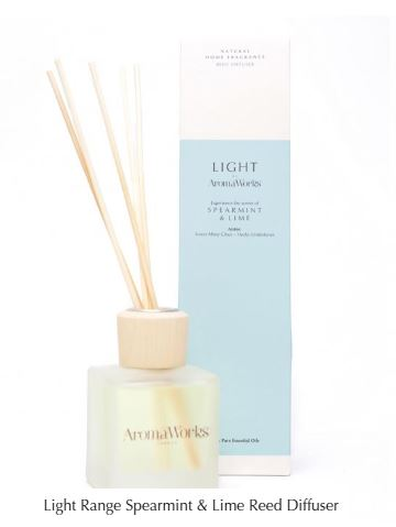Light Range Spearmint & Lime Reed Diffuser