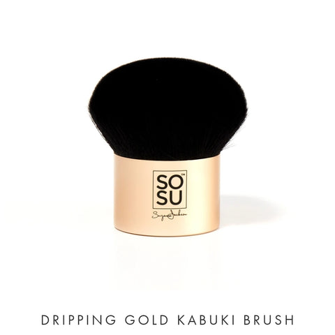 Dripping Gold KABUKI Brush