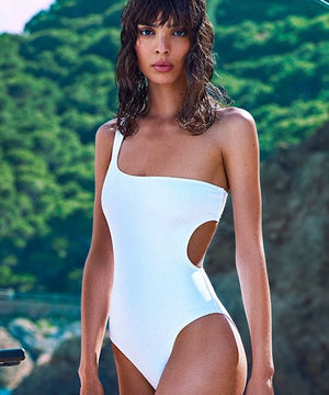 allSisters one piece swimsuit white