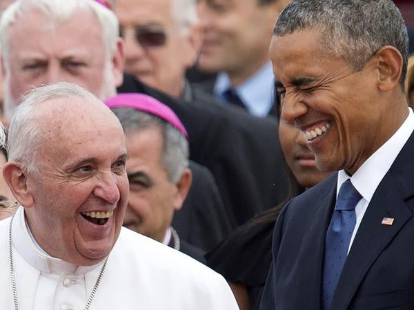 POPE FRANCIS ENCOURAGES ACTION AGAINST CLIMATE CHANGE IN WASHINGTON