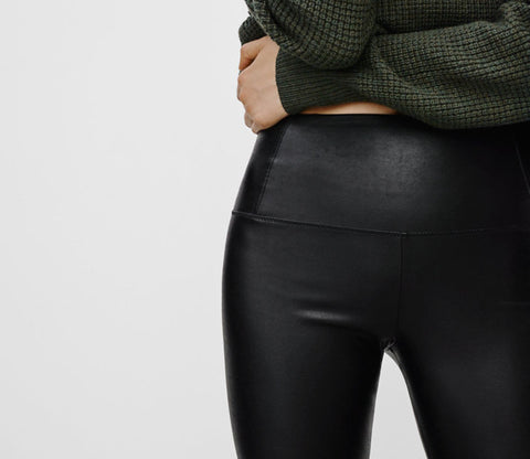 Wilfred Free by Aritzia Daria Pant Vegan Leather