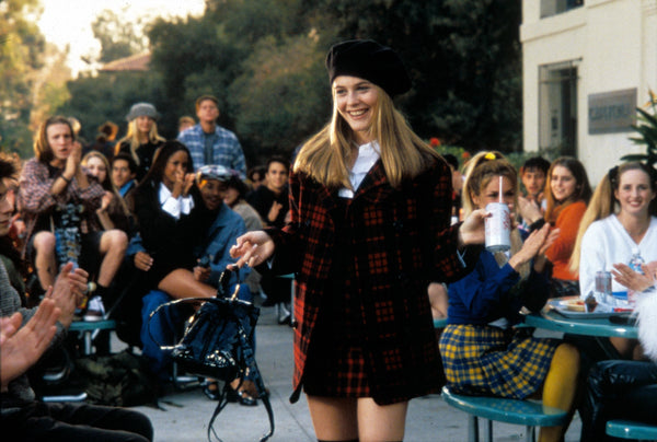 Cher wearing a beret in Clueless