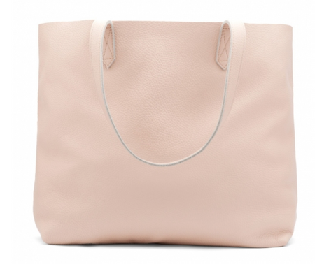Classic pebbled leather tote Cuyana