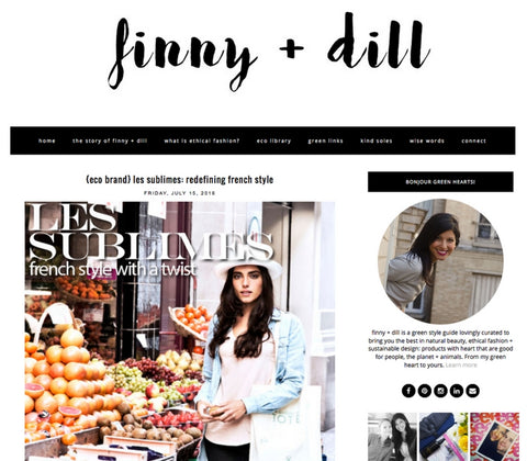 Finny and Dill – Les Sublimes, Re-Defining French Style, July 2016