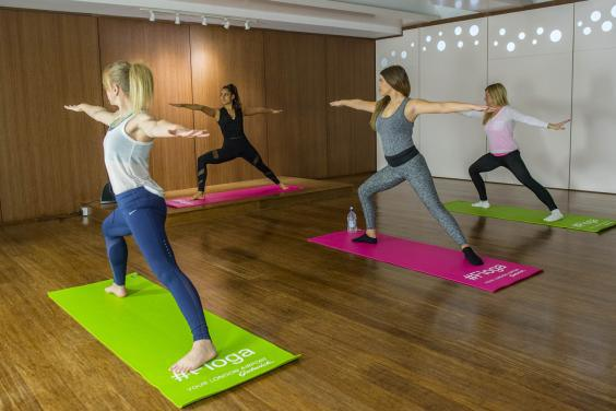Yoga room Gatwick Airport