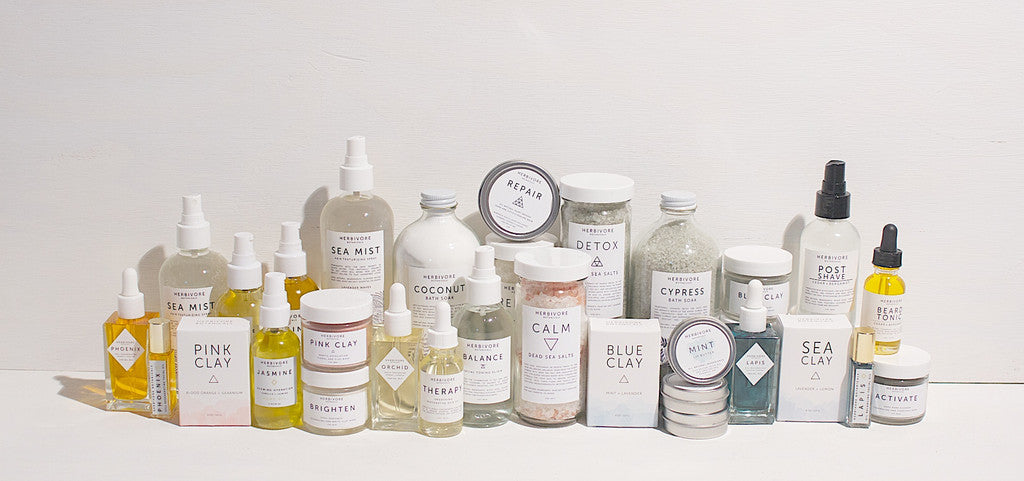 The Herbivore Botanicals Collections