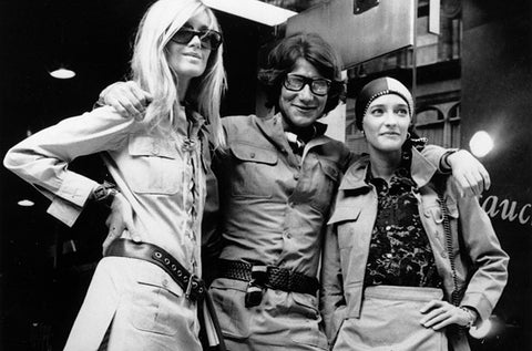 Safari Jackets YSL Betty Catroux Loulou de la Falaise