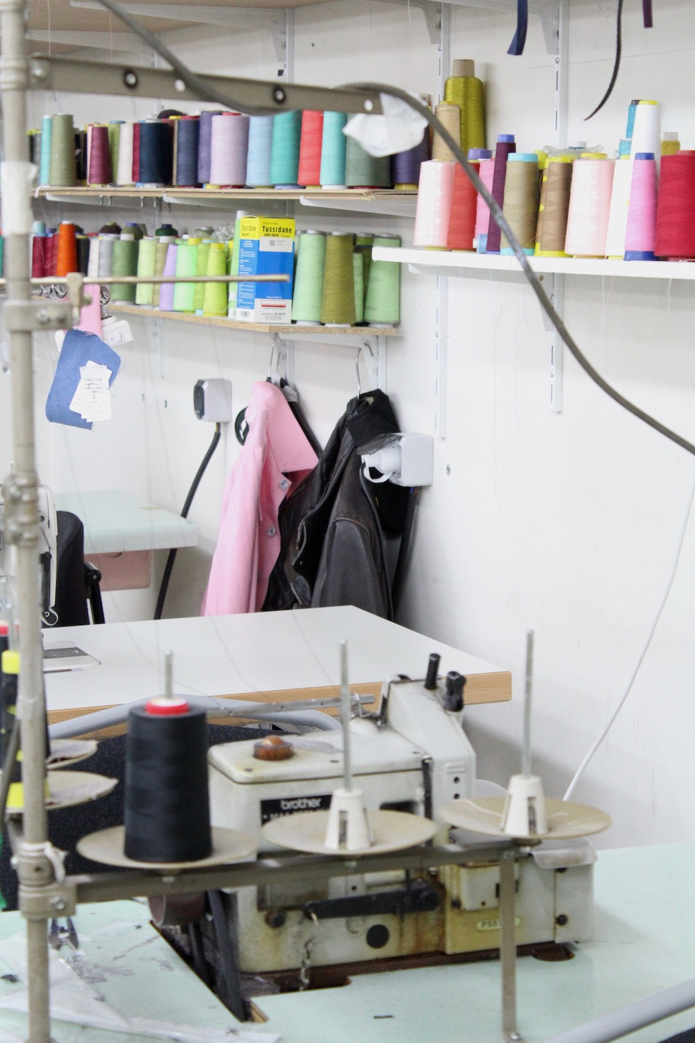 Les Sublimes Factory - Rosenberg Paris sewing room