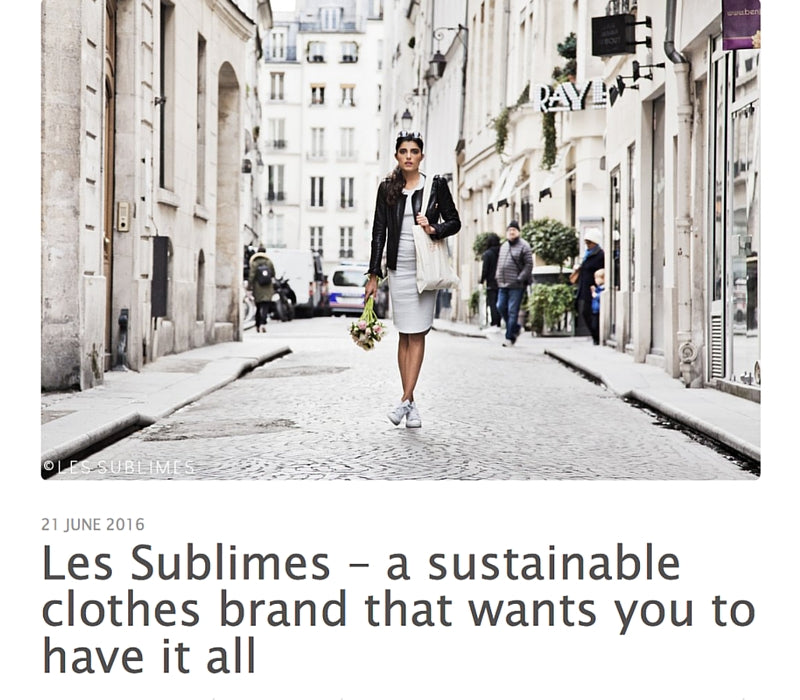 Mum Balance – Les Sublimes: A Sustainable Clothes Brand That Wants You To Have It All, June 2016