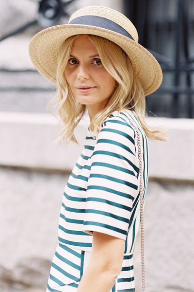Panama straw hat French style How to keep its shape