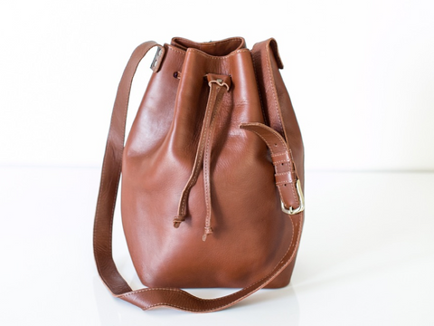 Tribe Alive Bucket Bag Brown