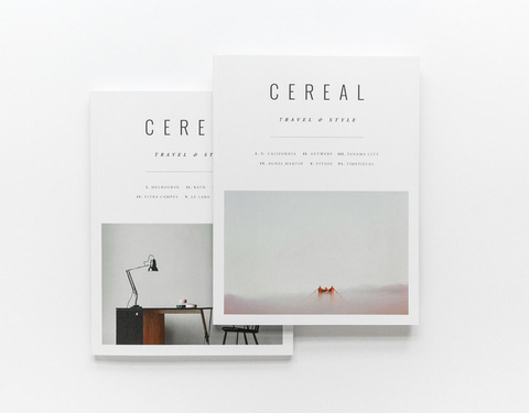 Cereal Mag annual subscription gift