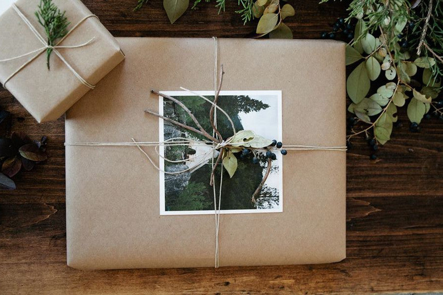 Sustainable Christmas gift wrap