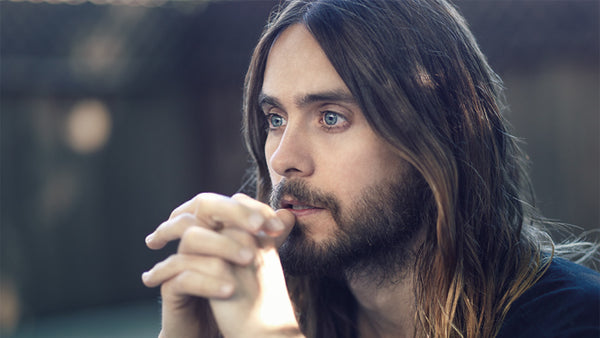 Jared Leto Long Hair Face
