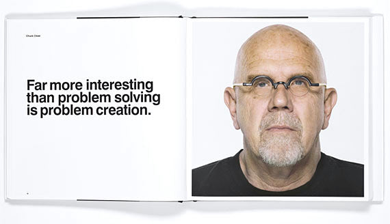 Chuck Close Widom Documentary Quotes