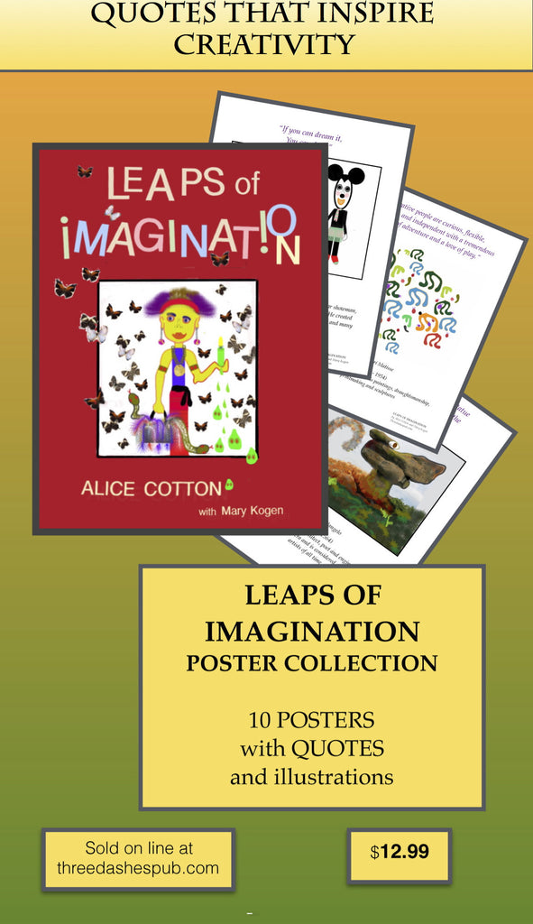 LEAPS OF IMAGINATION POSTER COLLECTION!