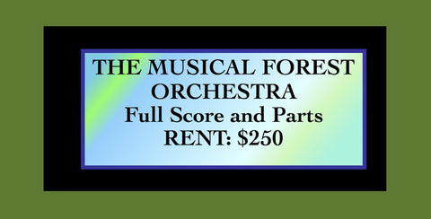 THE MUSICAL FOREST - Orchestra (narrator (actors) - RENTAL