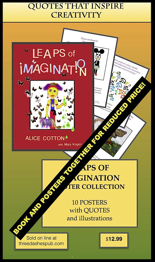 Leaps of Imagination Book AND Poster Set!