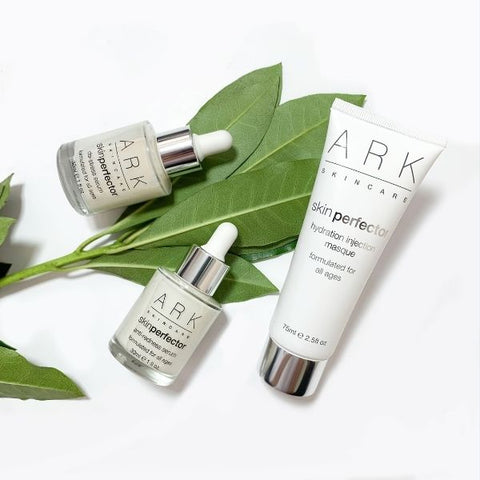 Products from ARK Skincare's Sensitivity & Redness Collection. Vegan friendly. Suitable for sensitive skin.