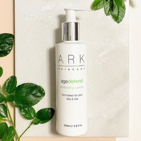 ARK Skincare's Age Defend Cleanser for 30s and 40s. Mature Skin. Sensitive Skin.