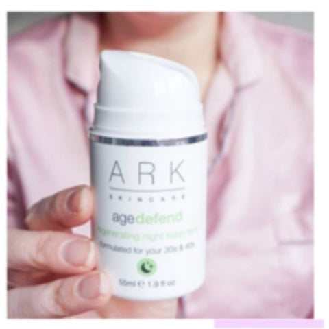 Image: ARK Skincare's Age Defend night treatment