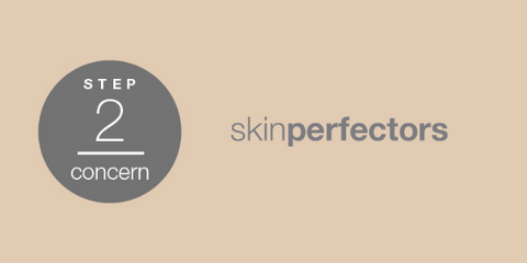 ARK Skincare's approach to creating a skincare routine. Step two: Concern