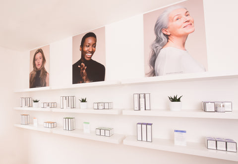 Visit ARK's first Skincare Boutique at the top of the High Street in Haslemere, Surrey to view our whole product range and receive free expert skin advice.