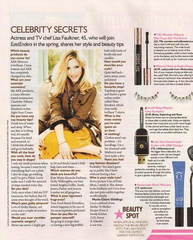 Lisa Faulkner talks about how ARK Skincare changed her skin!