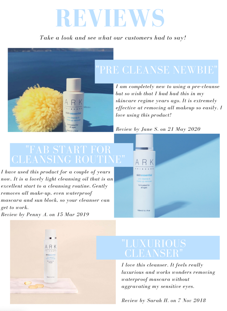 Image: Reviews on ARK Skincare's Pre-Cleanse & Make-Up Remover