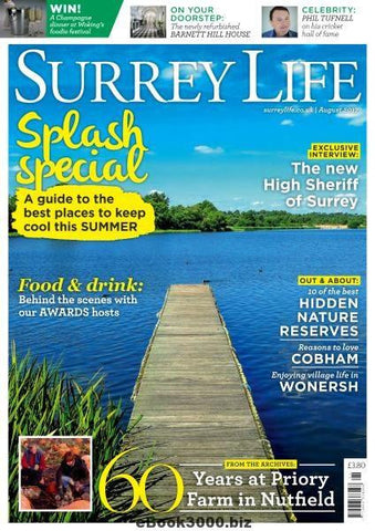 Cover of Surrey Life, where ARK's Beauty Boutique in Haslemere, Surrey was featured.