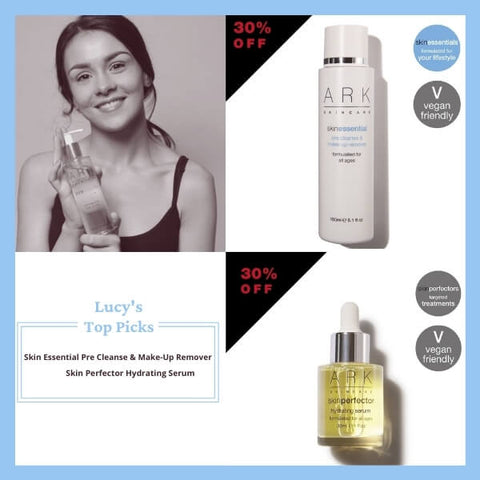 Lucy, ARK Skincare's Sales and Marketing Co-Ordinator shares her top picks from ARK's black Friday sale