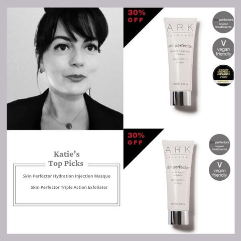Katie, ARK Skincare's Director shares her top picks from ARK's black Friday sale