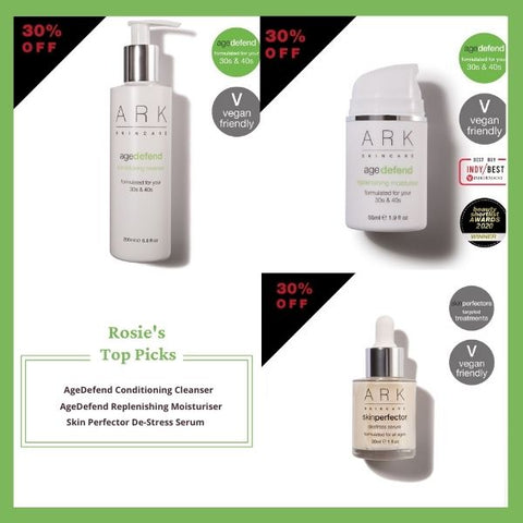 Rosie, ARK Skincare's Sales and Office Administrator shares her top picks from ARK's black Friday sale