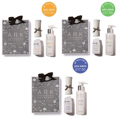 ARK Skincare's Age Intelligent Full Size Sets: Protect, Defend Defy