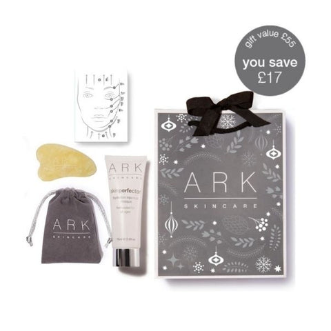 ARK Skincare's Skin Perfector Facial Massage Set with Jade Tool