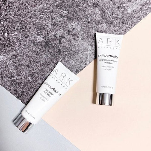 ARK Skincare's Skin Perfector Treatments: Triple Action Exfoliator & Hydration Injection Masque