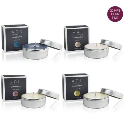 ARK Skincare's Luxury Spa Aromatic Travel Candles