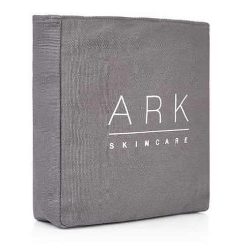 ARK Skincare's Luxury Grey Travel Bag