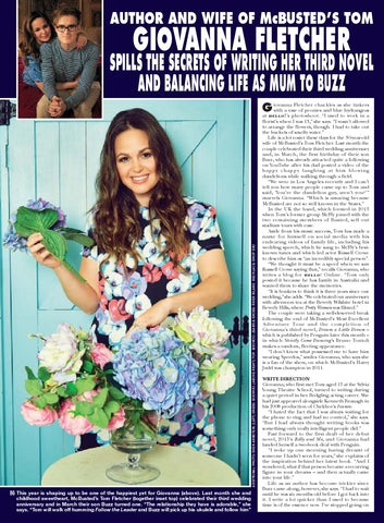 Giovanna Fletcher's glowing skin for HELLO! Magazine was created by Alice Theobald using ARK Skincare.