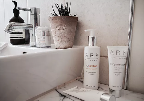 ARK's Age Protect Skin Vitality Moisturiser made blogger Lucy Alice Brooksbank's skin plump, soft and hydrated.