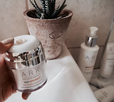 Lucy Alice Brooksbank was impressed at the smoothness of her skin after using ARK's Triple Action Exfoliator for the first time.