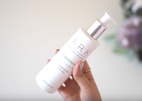 Natasha Summer included ARK Age Defend Conditioning Cleanser in her 'September Favourites' YouTube video.