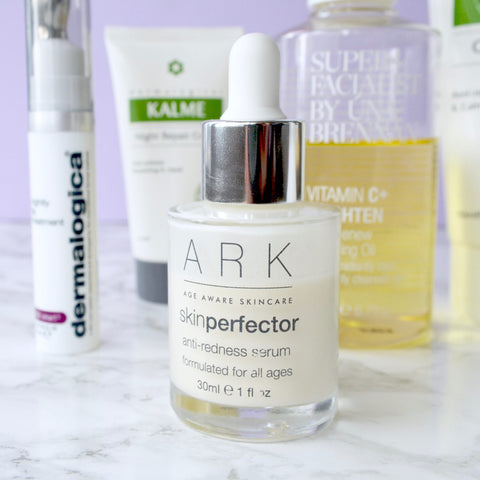 Blogger Talonted Lex tried and loved ARK's Skin Perfector Anti-Redness Serum.