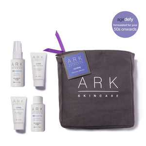 This Age Defy set is designed for those in their 50s & onward. An ideal gift or travel set. Vegan friendly.