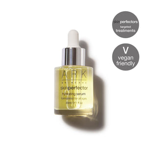 ARK Skincare's vegan Hydrating Serum instantly hydrates dry, thirsty skin & plumps up fine lines & wrinkles